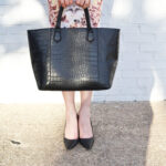 structured bag, bershka, stillettos, shoes, pencil skirt, printed skirt,