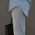 denim on denim, boyfriend jeans, daniela soriano, outfit details