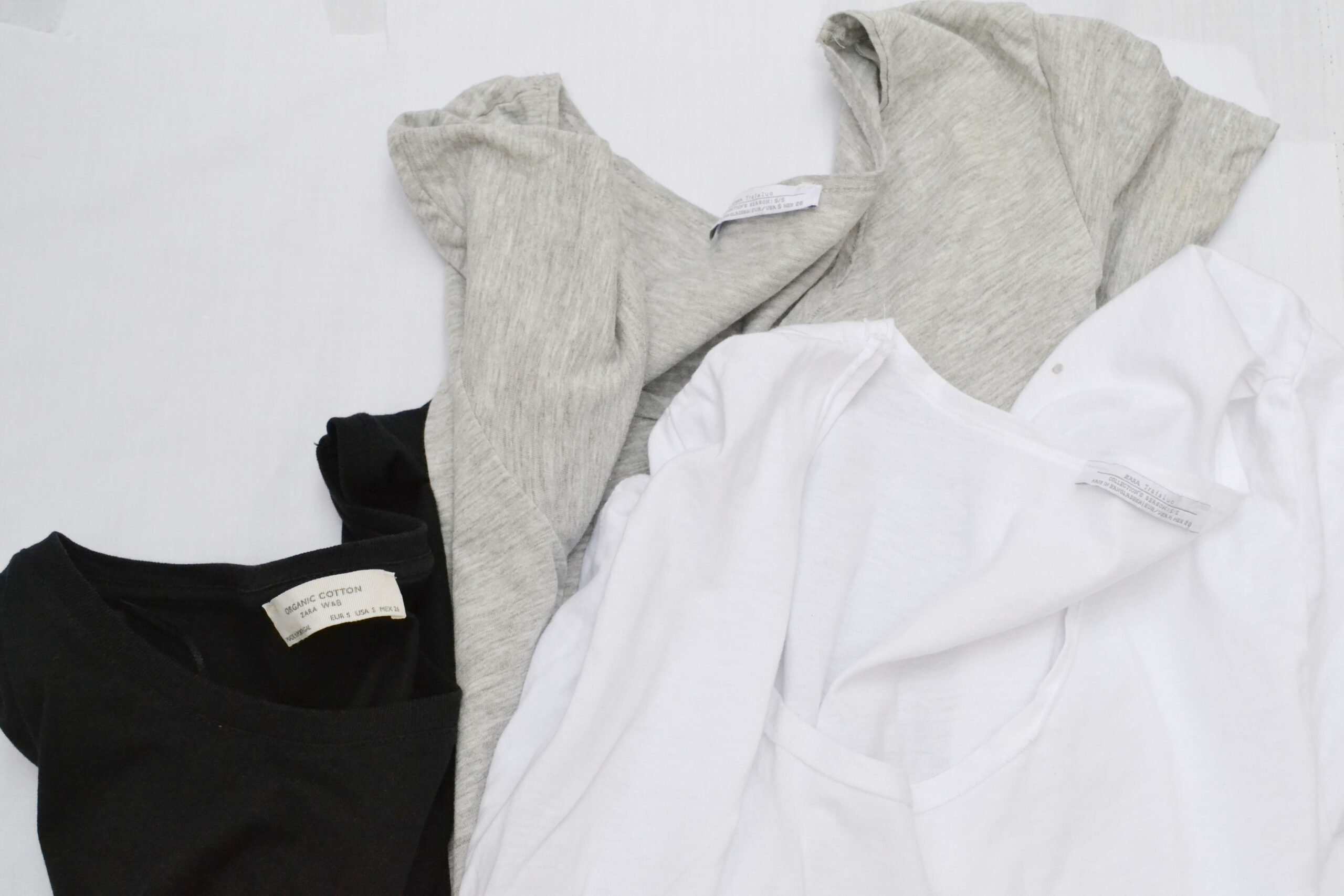 t-shirts, basic tops,