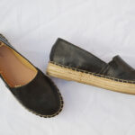 new in leather espadrilles 1