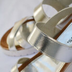 silver sandals, sandals, white sole, mexican shoes, zapatos mexicanos, marcas mexicanas, padus