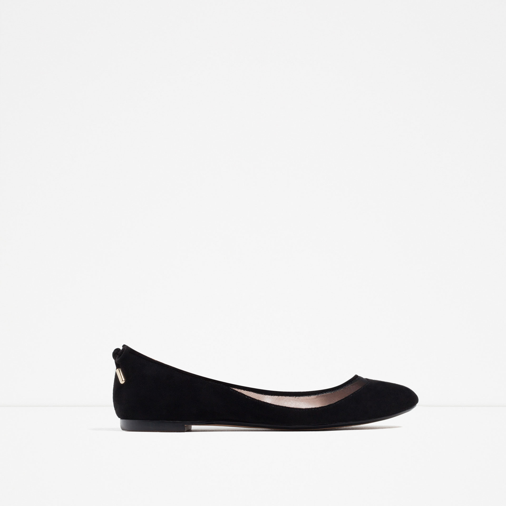 zara, black flats, shoes