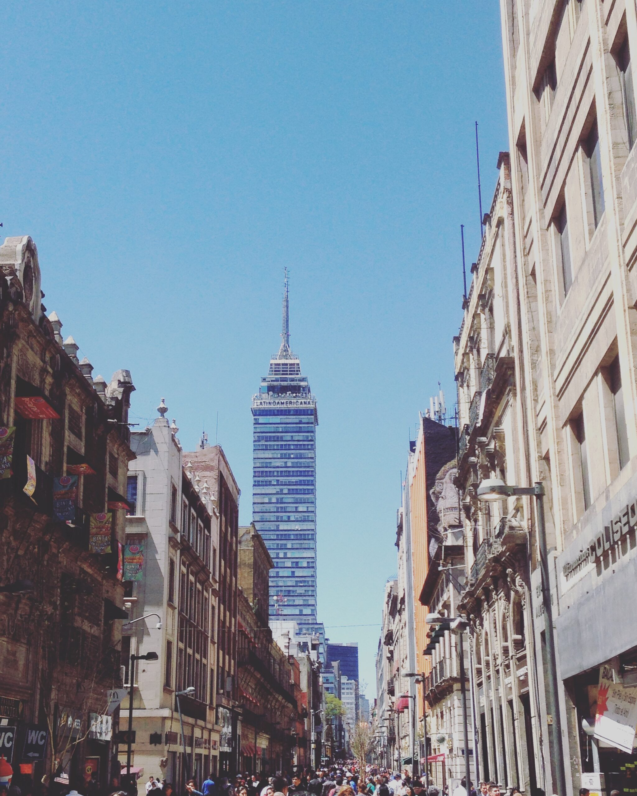 mexico, travel, mexico city, torre latinoamericana,
