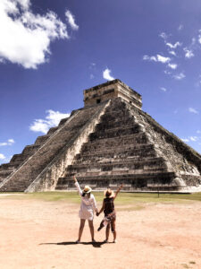 yucata, merida, chichen itza, seven wonders of the world, mexico, pyramid, friends, travel, best friends, tumblr style pictures