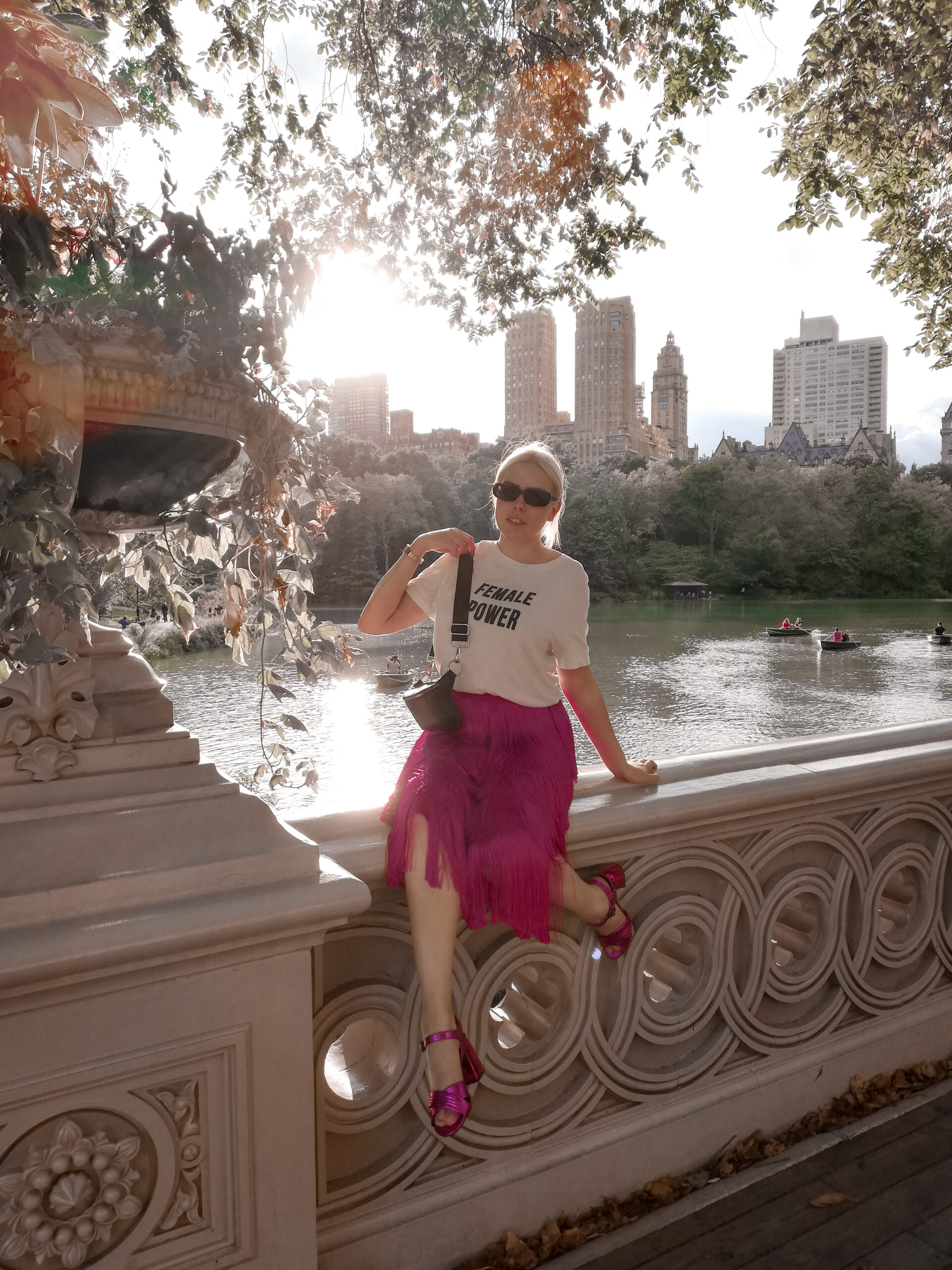 ny, central park, bow bridge, instagrammable places