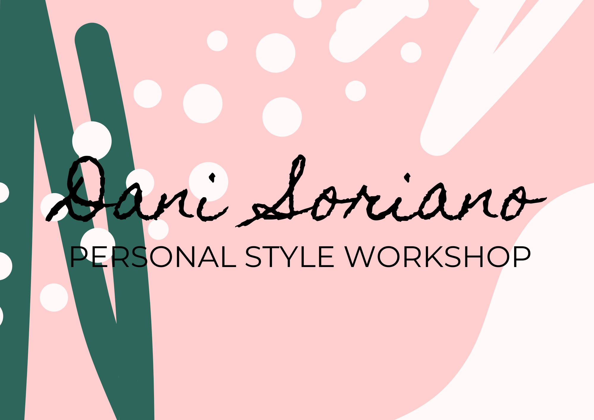 Personal Style Workshop