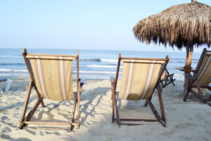 beach chairs, beach, sand, riviera nayarit, mexico, mexican beach,