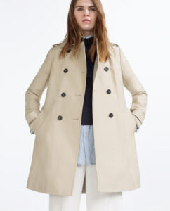 zara, trench coat, womens, women, woman