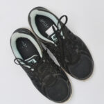 nike, sneakers, black, light blue,