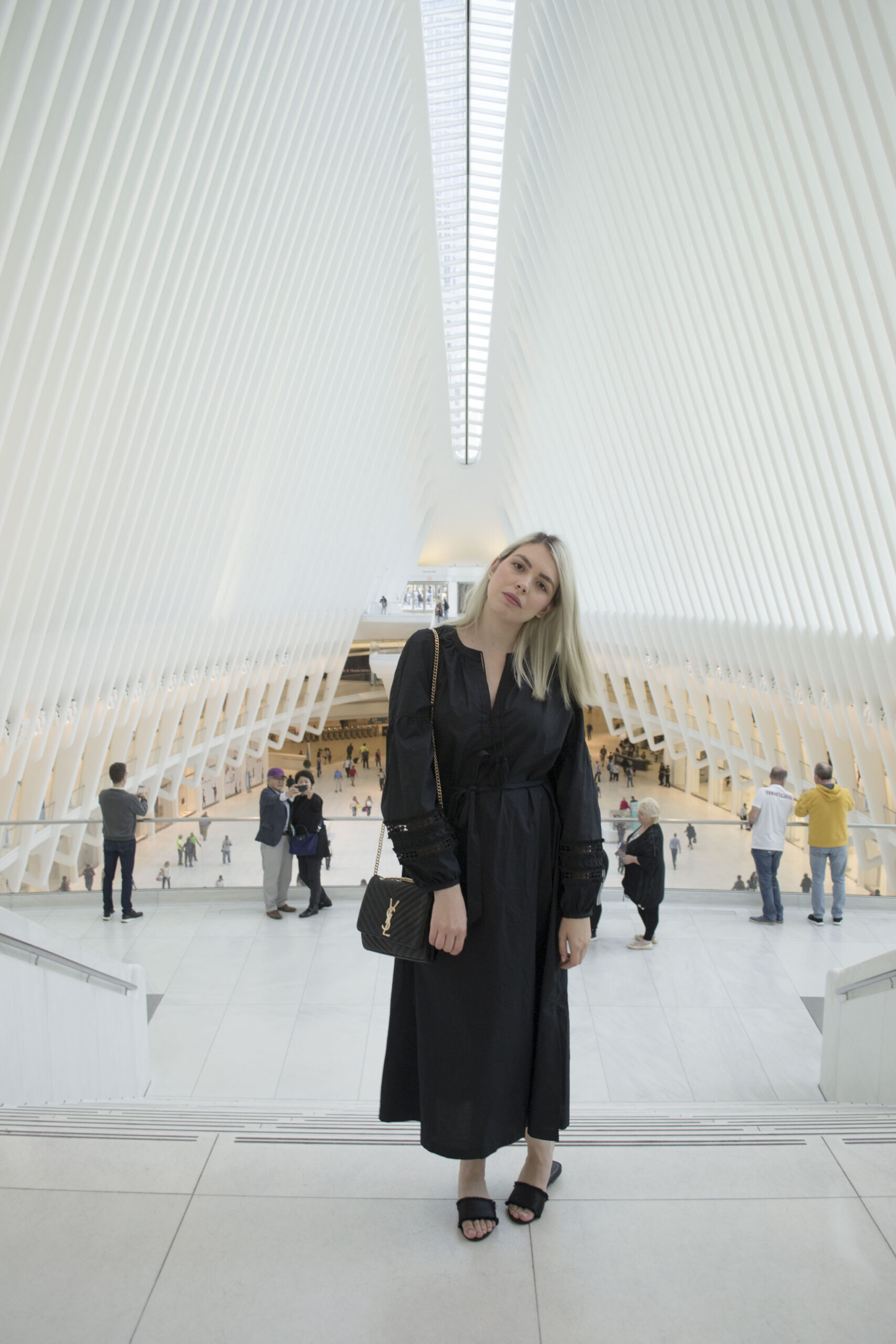 the oculus, new york, instagrammable spots, daniela soriano, outfit, ideas